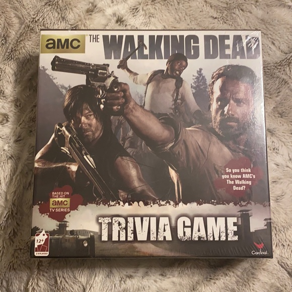🆕THE WALKING DEAD TRIVIA GAME